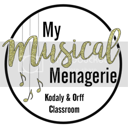 grab button for My Musical Menagerie: Kodaly and Orff Classroom