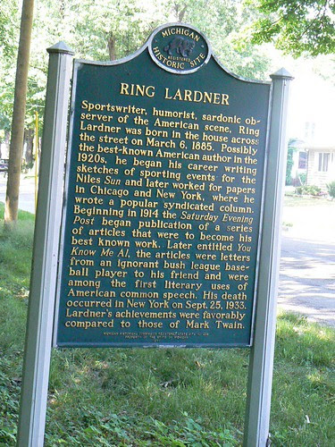 Ring Lardner Home by Clyde Bentley