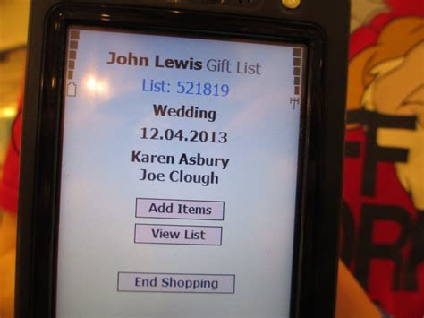 John Lewis Gift List Contact   Gift Ftempo