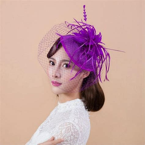 CHENLVXIE Vintage Bridal Hats White Wedding Bridal Hair