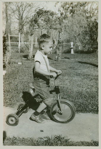 Boy with Tricycle