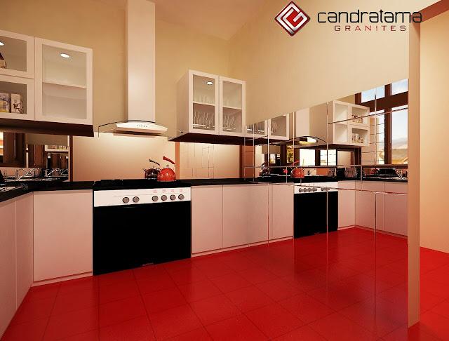 Meja Dapur Granit Minimalis | Ide Rumah Minimalis