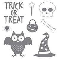 Howl-O-Ween Treat Clear-Mount Stamp Set
