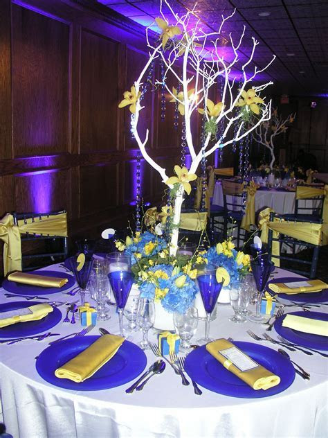 "Blue and Yellow Wedding Theme   ""I'm going to the Chapel"