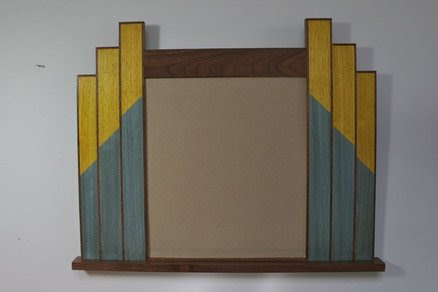 Art Deco Style Wall Mirror - by Roger Gaborski @ LumberJocks.com ...