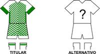 Uniforme Selección Capiibary de Fútbol