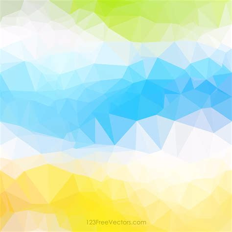 polygonal colorful background vector