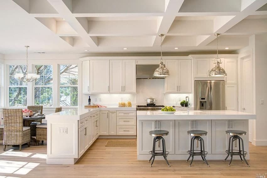 25 Beautiful Transitional Kitchen Designs (Pictures ...