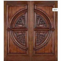 teak wood entrance door design in india  | 350 x 350