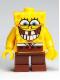 Minifig No: bob021  Name: SpongeBob - Grin with Bottom Teeth