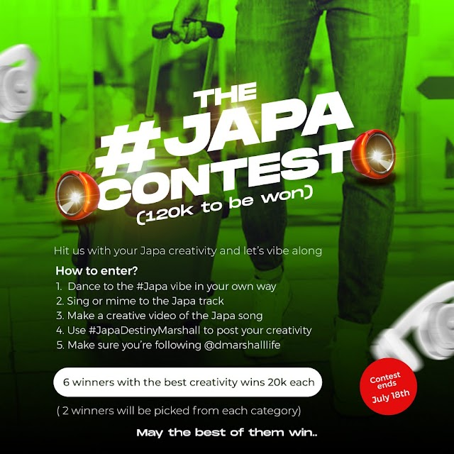 [BangHitz] The #Japa Instagram contest (120k to be won)