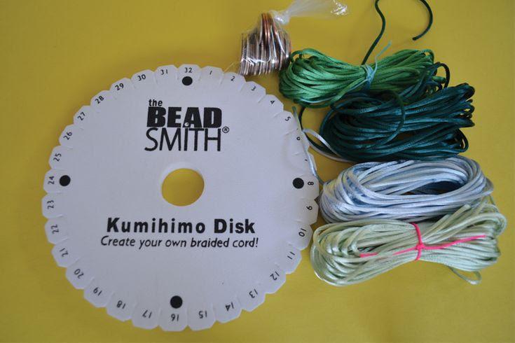 How To Make Kumihimo Braided Cord