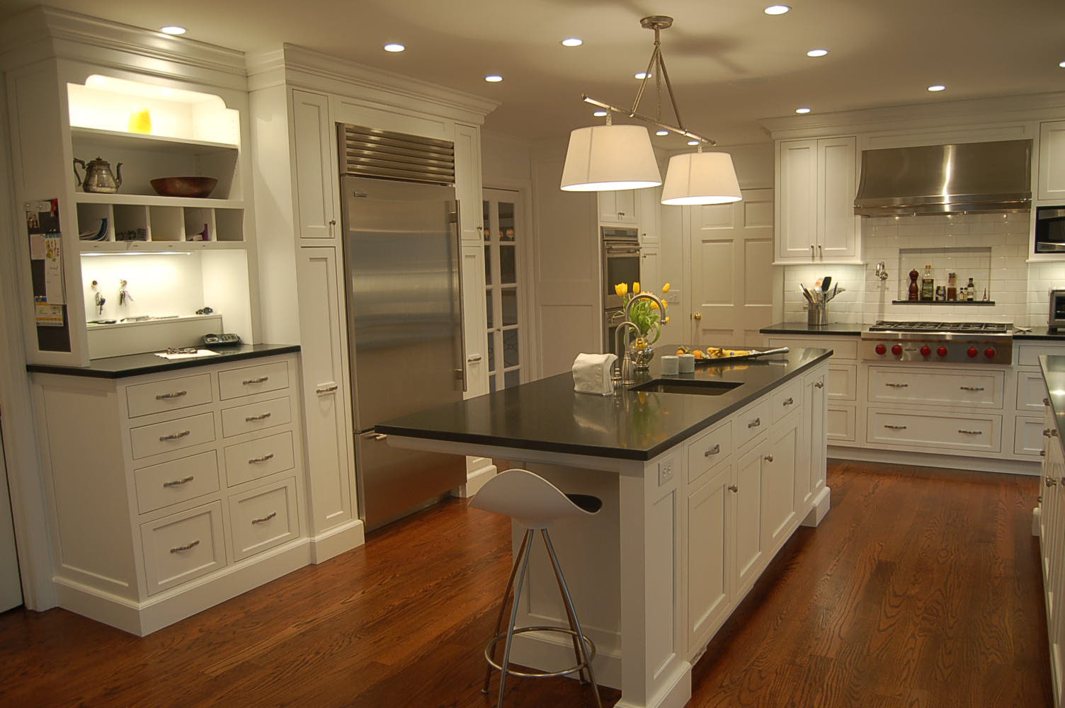 Kitchen Cabinets White  Home Design Roosa