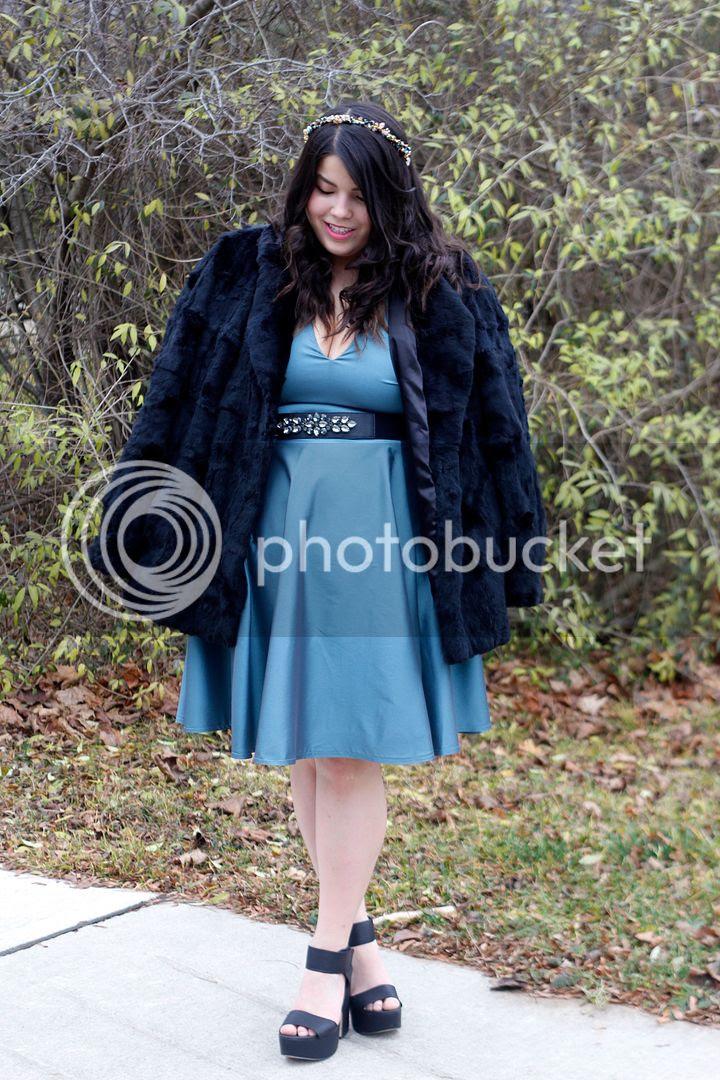Liesl Binx Plus Size Fashion Holiday Wear Plus Size Party Dresses Plus Size Faux Fur Plus Size Ethical Fashion