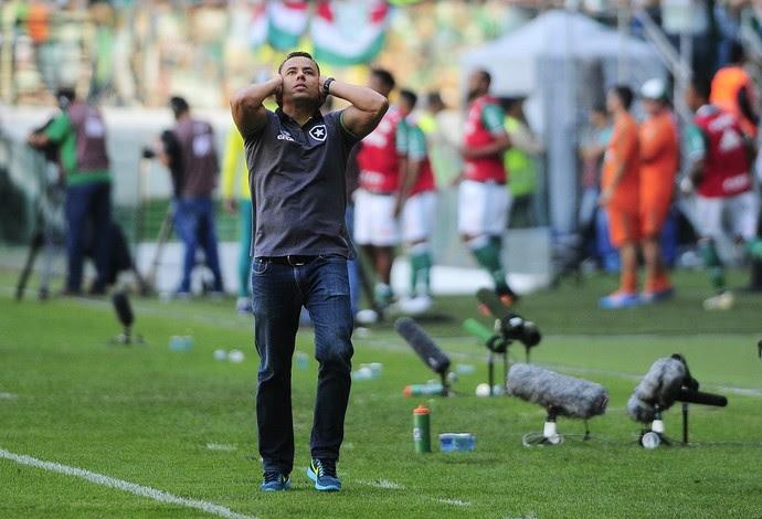 Jair Ventura Botafogo (Foto: Marcos Ribolli)
