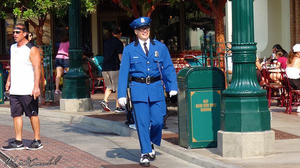 Disneyland Resort, Disney California Adventure, Buena Vista Street, Office Blue