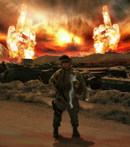 Infantryman of the Apocalypse