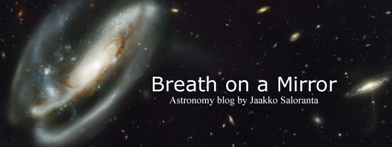Breath on a Mirror - Astronomy blog by Jaakko Saloranta