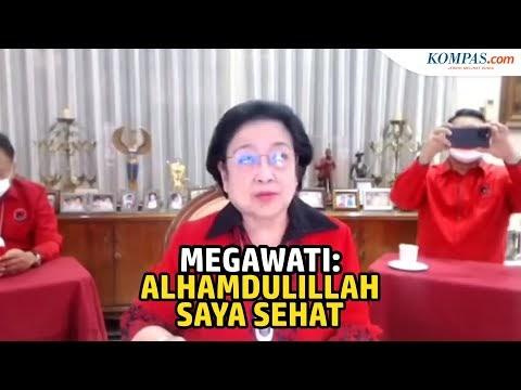 Inilah Ibu Mega,  Ketua Umum PDI Perjuangan, Dalam Kondisi Sehat Walafiat