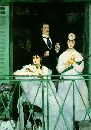 The balcony, Edouard Manet