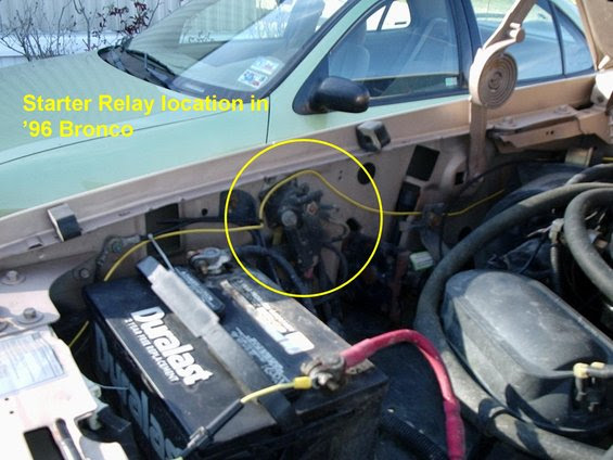 Starter/solenoid diagram and advice - Ford Truck ...