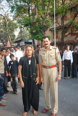 Sr Inspector Baig And The Barefeet Blogger of Mumbai by firoze shakir photographerno1