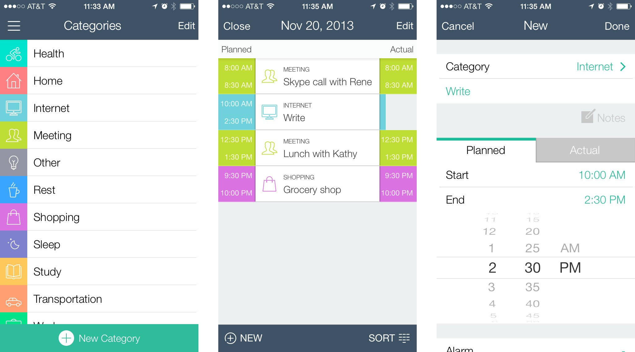 TIME Planner for iPhone helps you plan your day and delegate your ...