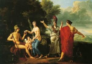 Juicio de Paris, Febre. 1808.