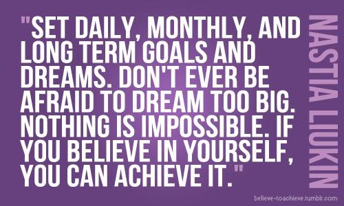 Goals Quotes. QuotesGram