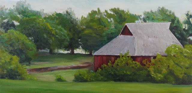 Red Barns ~ Summer