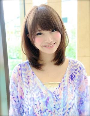 小顔ヘアスタイル ミディアム - ヘアスタイル・髪型・ヘアカタログ(セミロング|小顔)|人気順