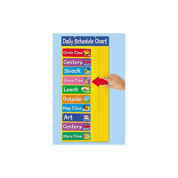 Visual Aid Daily Schedule – March 2017 Calendar