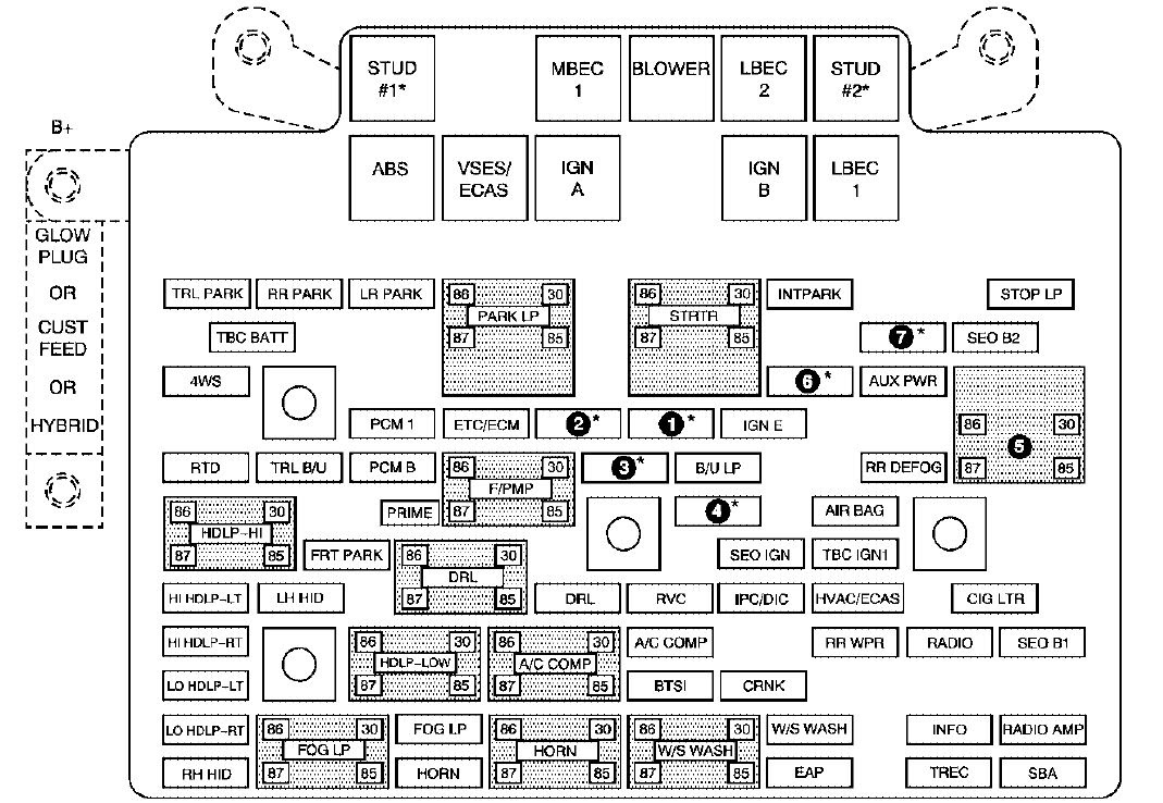2001 Gmc Sierra 1500 Fuse Box Diagram Wiring Diagram Frankmotors Es