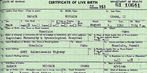 PNN) PPSIMMONS News and Ministry Network: Evidence Obama birth ...