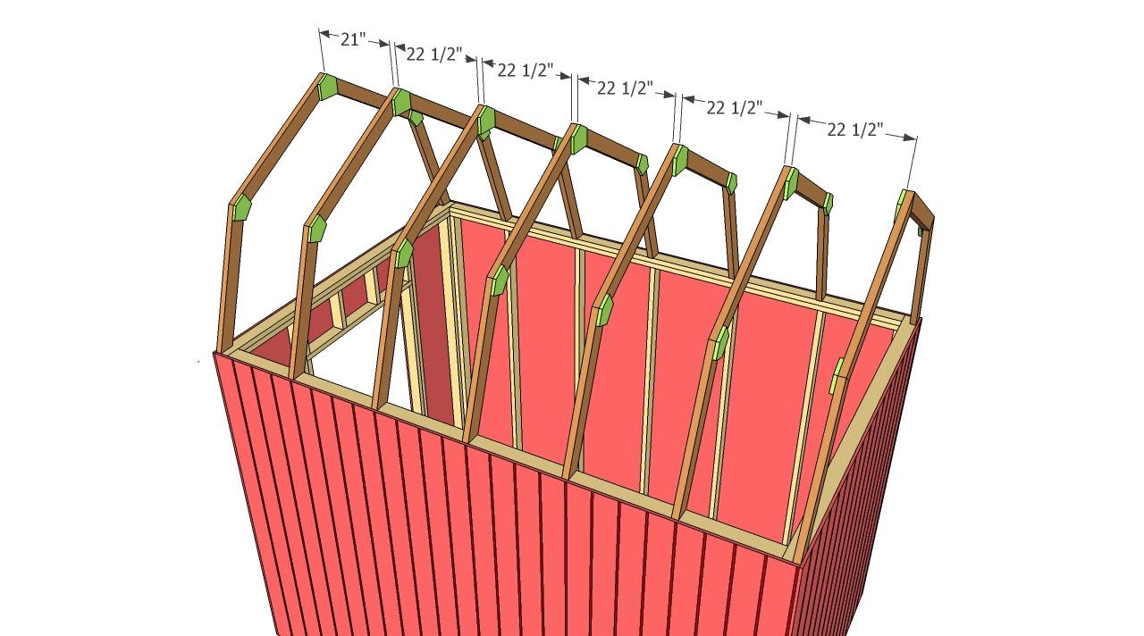 gambrel roof pole barn truss design gambrel shed roof