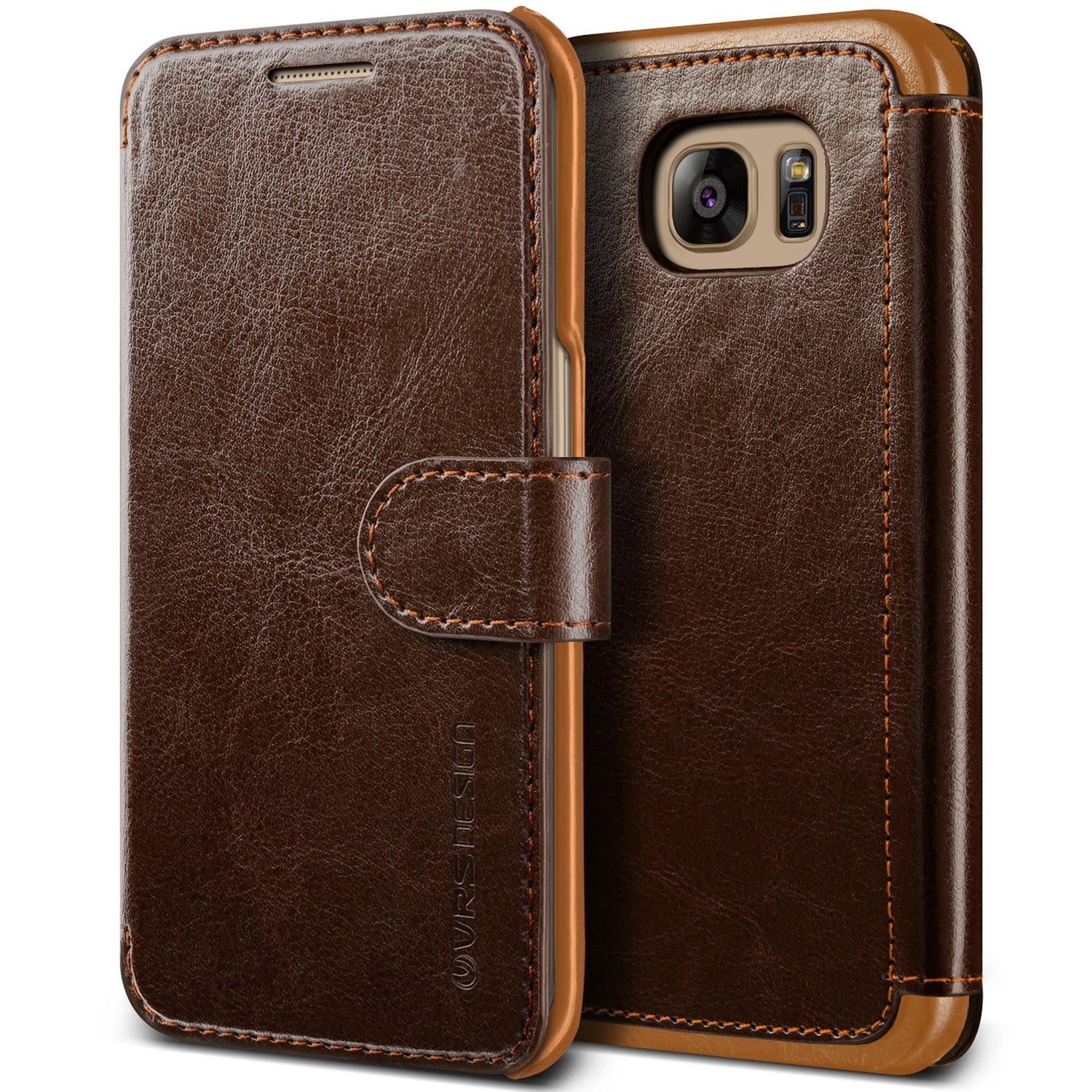 VRS Design PU Leather Wallet case/