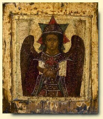 """Ο Χριστός ως """"Άγγελος Σιωπής""""."""