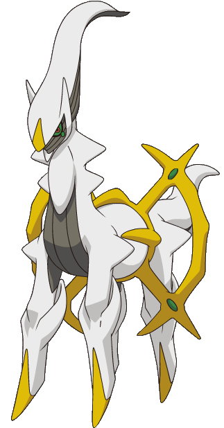 Official and Clear Arceus Images  Pok\u00e9Beach
