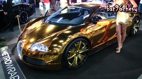 Bugatti Veyron Gold Chrome   image #393
