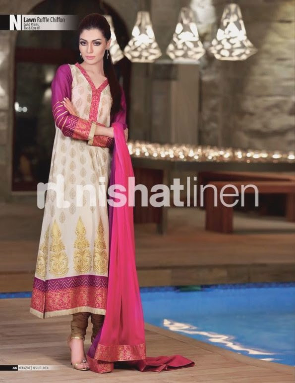 Nishat-Linen-Eid-Dress-Collection-2013-Pret-Ready-to-Wear -Lawn-Ruffle-Chiffon-for-Girls-Womens-2