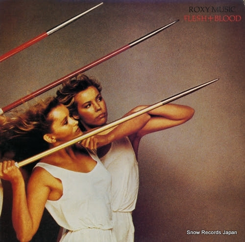 ROXY MUSIC flesh + blood