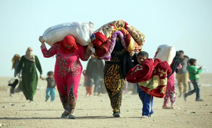 Resultado de imagem para refugiados mossul