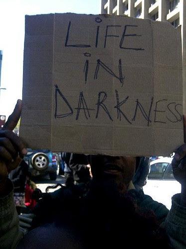Evictions in Marlboro, Johannesburg