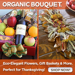 OrganicBouquet Eco-Elegant Thanksgiving Flowers
