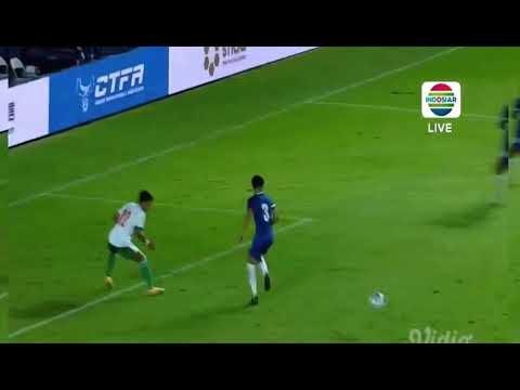 GOAL Ricky Kambuaya Indonesia 2-0 Chinese Thaiepei