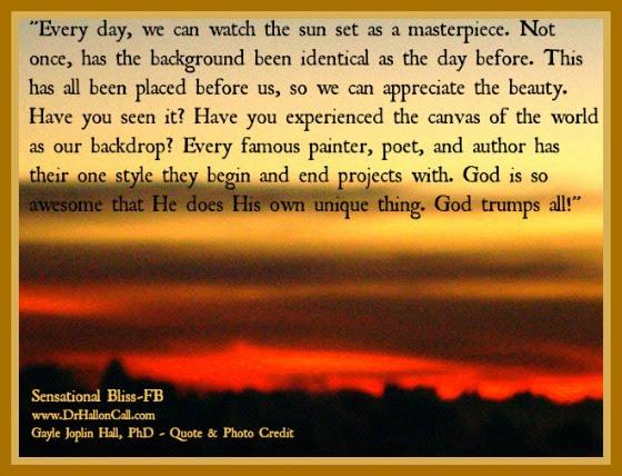 Gods Beauty Is Everywhere By Dr Gayle Joplin Hall