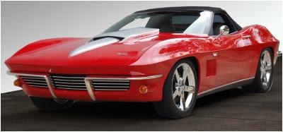 Chattanooga 1967 Corvette