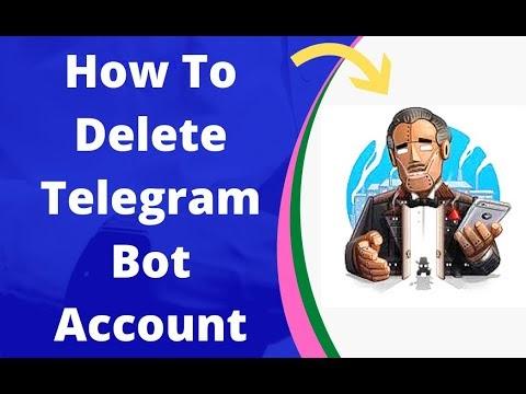 How To Delete  Telegram Bot