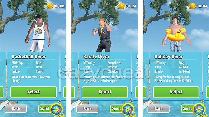 Flip Diving v2.4.3 Cheats
