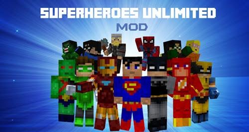 MOD | SuperHeroes 1.7.10